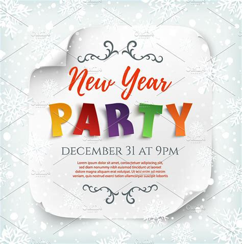new year template new years poster templates free premium templates