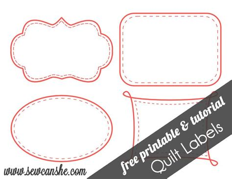 printable quilt labels stitchin therapy friday finds