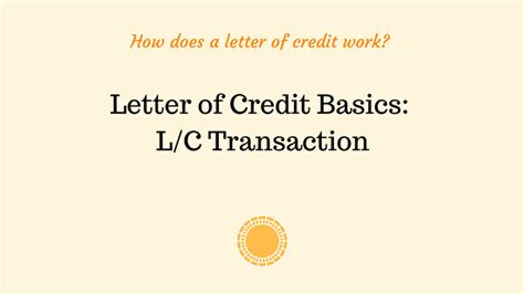 Letter Of Credit Transaction Advancedontrade Export Import Customs 2017