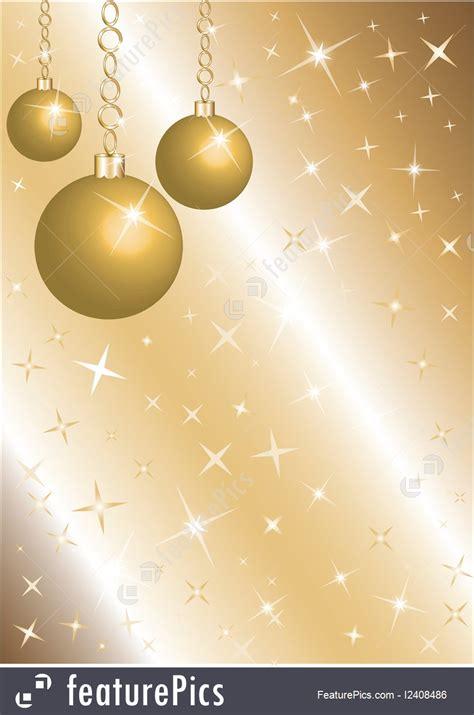 holidays golden christmas background stock illustration