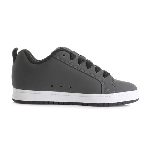 Dc Court Graffik Se Black Grey Mens Trainers Treds Mens Dc Court Graffik Grey White Skate Trainers Shoes Shu Size Ebay
