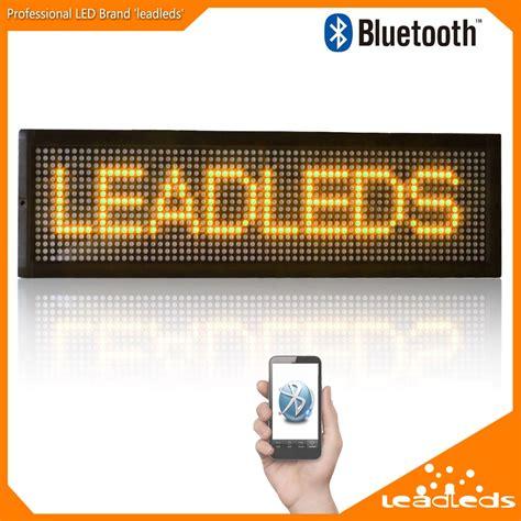 Led Display Board p10 bluetooth wifi led scrolling text led display board scrolling led display