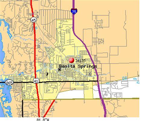zip code map estero fl 34135 zip code bonita springs florida profile homes