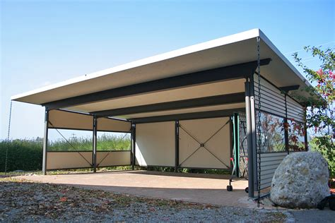 carport aus glas gast stahlbau