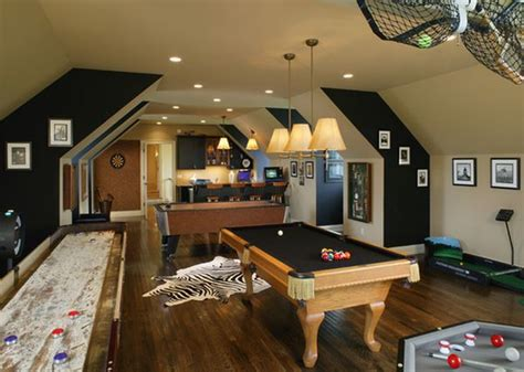 game room decorating ideas walls game and entertainment rooms featuring witty design ideas