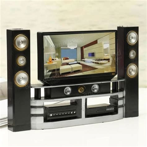 hi fi tv cabinet set combo for barbie doll house furniture