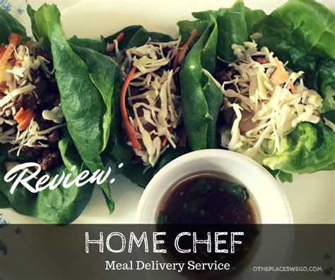 review home chef meal delivery service