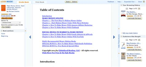 Making Money Online With Amazon - 38 places to find profitable keywords in your niche 62 screenshots showing you how