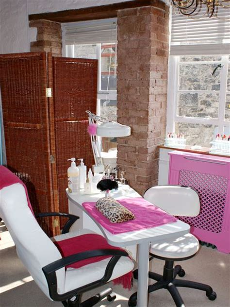 nail room nail salon treatment tables
