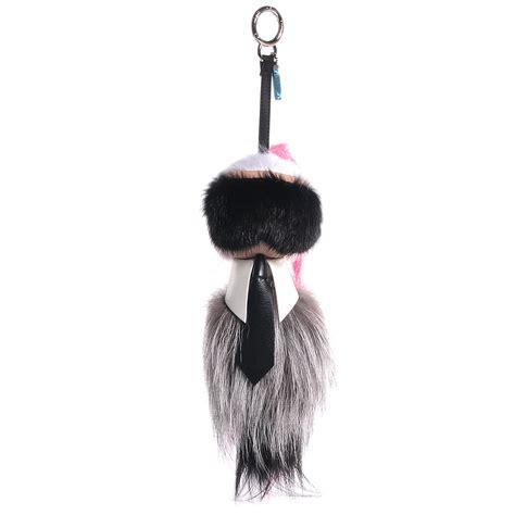 Fendi By The Way Medium With Karlito Charms 7025 fendi mink fox fur karlito bag charm pink 81575