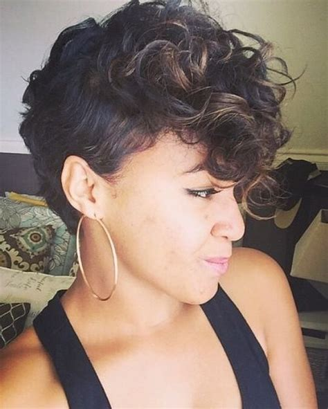 grow african american american hair in a pixie cut mohawks curly mohawk and african american hairstyles on