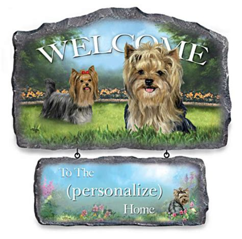 yorkie home decor terrier flags garden decor