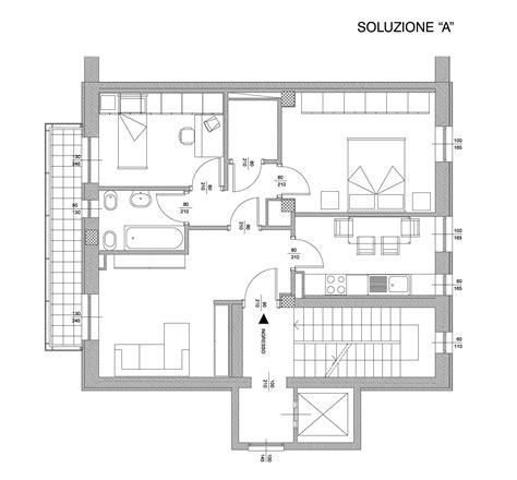 Piantina Appartamento by Favolosi Appartamenti A 200 Mt Metropolitana Gialla 3