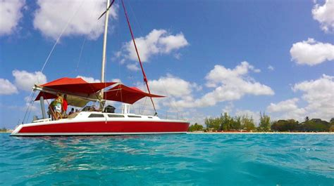 private catamaran charter excursion barbados cruise - Barbados Catamaran Charter