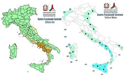 bollettino d italia maltempo allerta della protezione civile anche per domani