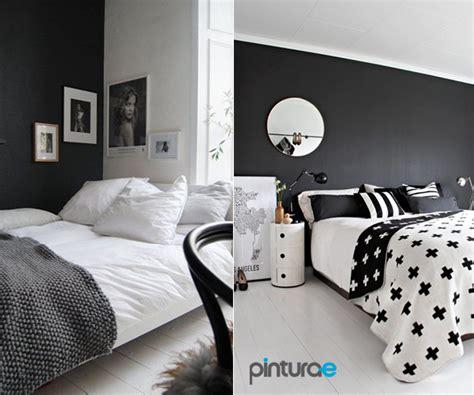 como decorar sala negra pintar el dormitorio de negro