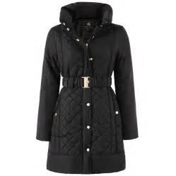 brave soul winter coat hooded parka padded womens