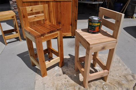 diy outdoor bar stools free outdoor furniture plans help you create your own