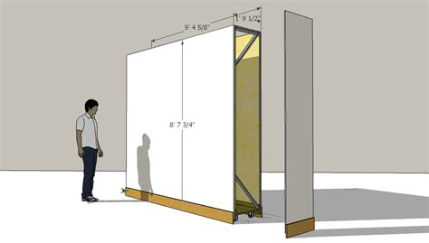mobile walls artisan design partition wall for an art gallery