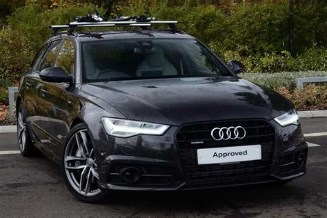 Audi A6 Avant S Line Black Edition by Used 2016 Audi A6 Avant Tdi Quattro S Line Black Edition