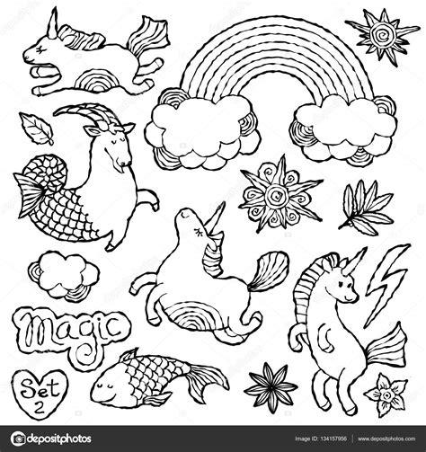 imagenes de unicornios en blanco y negro parche de la moda blanco y negro la divisa elementos en