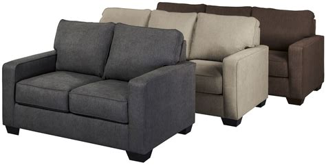 twin loveseat sleeper zeb charcoal twin sofa sleeper 3590137 ashley