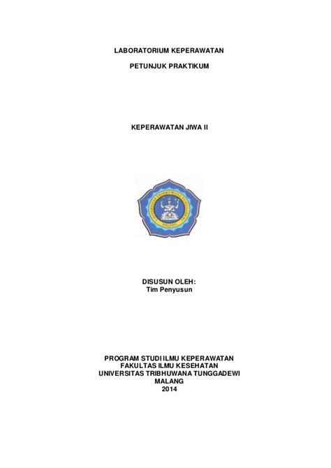 Buku Keterilan Dan Prosedur Laboratorium Keperawatan Dasar Ed 2 buku panduan keperawatan jiwa 2