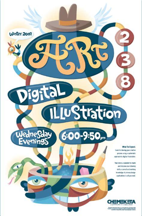 desain poster keren cdr 30 contoh desain poster promosi keren unik modern dan