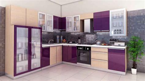 Purple Kitchen Wallpaper by Mutfak Dekorasyon Fikirleri Yapı Dekorasyon 360