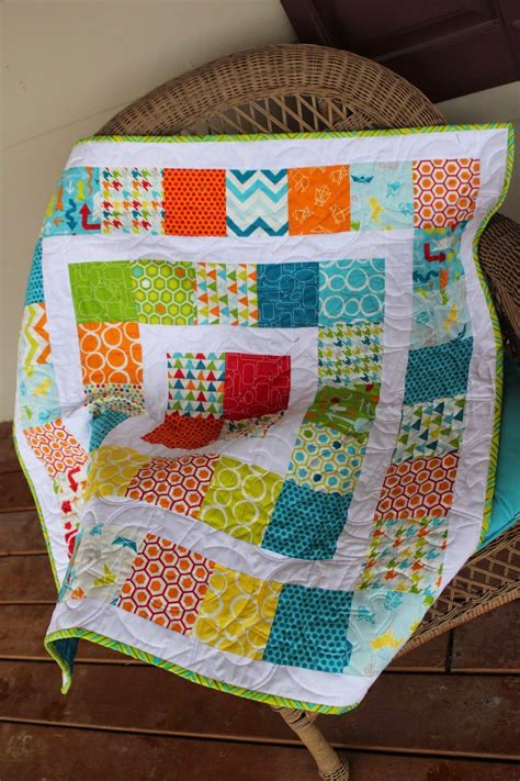 quilt pattern for baby boy around the world baby quilt made with charm packs