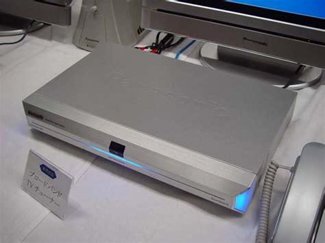 Tv Fujiwa 松下 hddレコーダにストリーム再生機能を搭載した ブロードバンドtvチューナ を開発