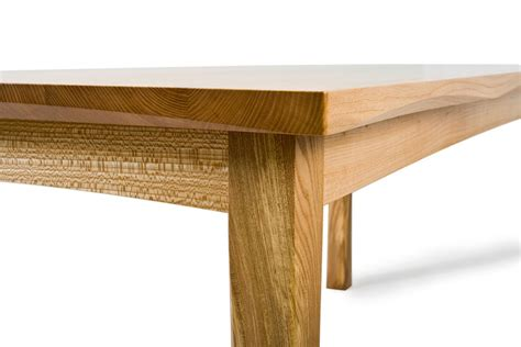elm dining table elm dining table bespoke dining table by aidan mcevoy