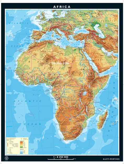 africa map features best photos of map of africa physical either physical