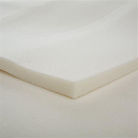 memory foam futon mattress queen 1 inch slab memory foam mattress topper queen ebay