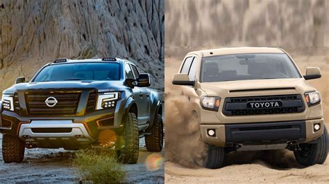 Which Is Better Toyota Or Nissan 2016 Nissan Titan Warrior Vs 2016 Toyota Tundra