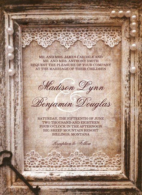 free rustic printable wedding invitation templates for word 28 rustic wedding invitation templates free sle