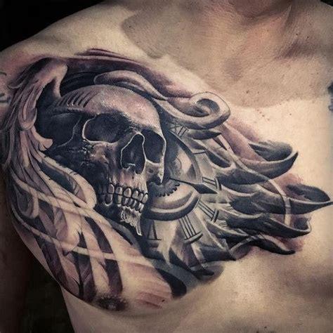 chest tattoo exles the 25 best chest tattoo compass ideas on pinterest