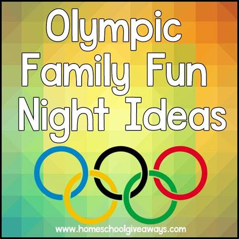 olympic family ideas