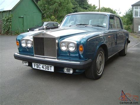 rolls royce blue rolls royce silver shadow peacock blue
