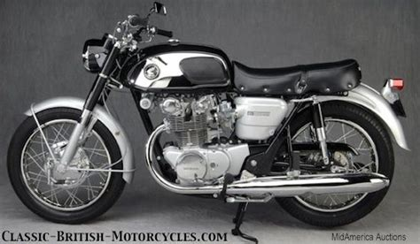 Die Motorrad Garage For Sale by 1966 Honda 450ko Honda 450 Honda 450 Black Bomber Honda