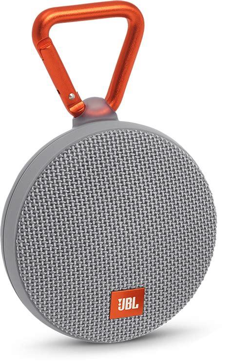 Jbl Bluetooth Speaker Clip 2 Special Edition Zap jbl clip 2 gray portable bluetooth speaker jblclip2gray