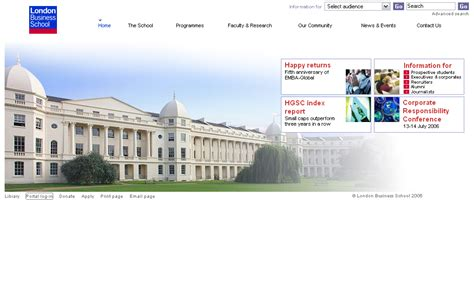 Lbs Mba Calendar by Its Web Team Home Page Project