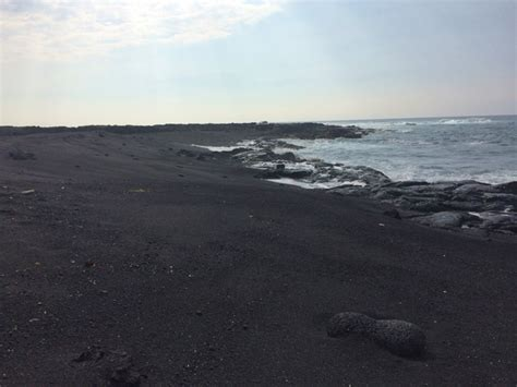 black sand beach big island hi oh the places we have the best beaches on the big island of hawaii x days in y