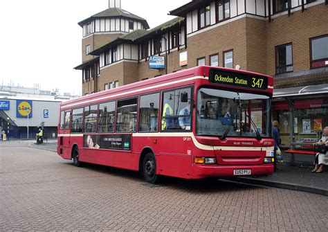 london bus routes route  ockendon romford station