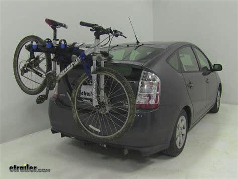 Thule Bike Rack For Prius by Thule Raceway 3 Bike Rack Trunk Mount Adjustable Arms