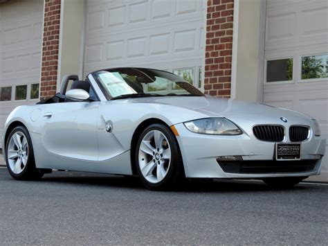 bmw z4 3 0i 2006 bmw z4 roadster 3 0i stock w69654 for sale near