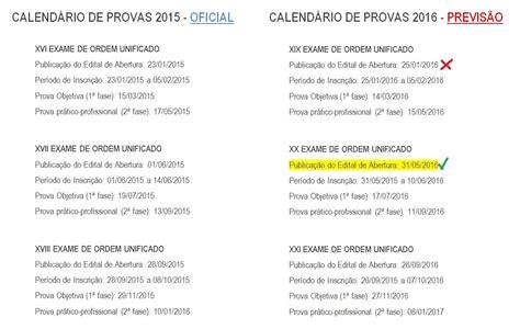 Calendario Oab 2015 Novo Cpc 233 Sancionado Confira O Impacto No Exame De