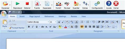barra de herramientas superior traslado de la barra de herramientas de claroread