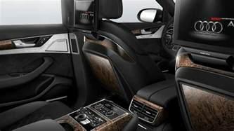 Audi A8 Interior 2017 Audi A8 Sedan Interior
