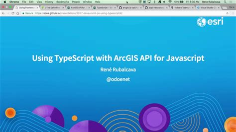 arcgis javascript layout using typescript with arcgis api for javascript